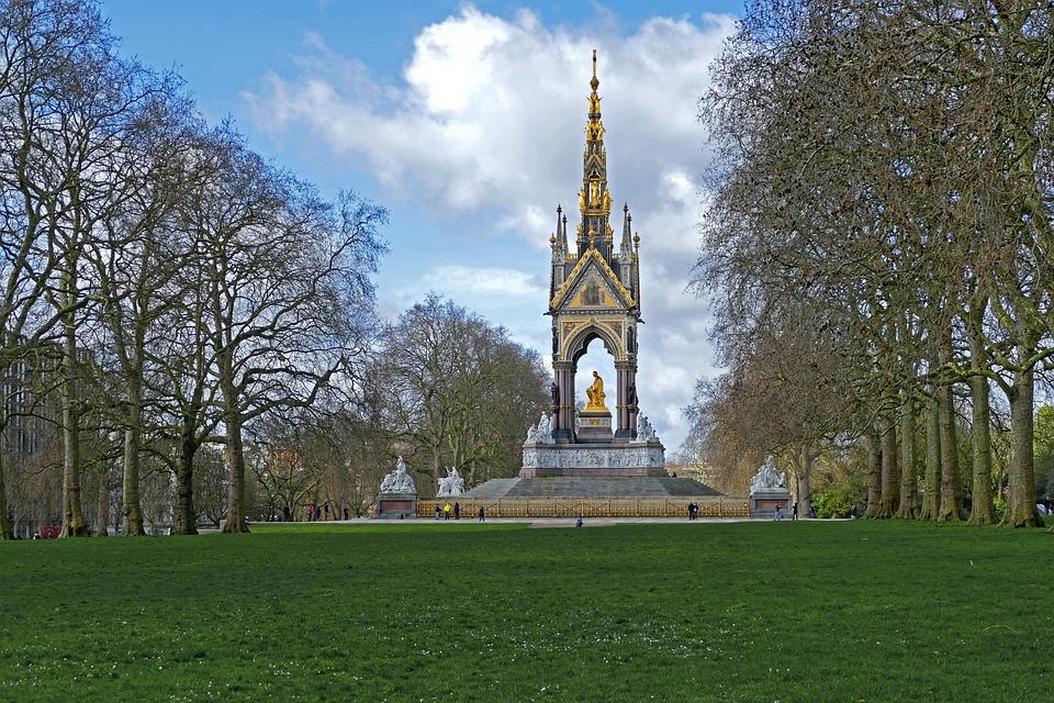 London, Hyde Park, Prince Albert Memorial, England
