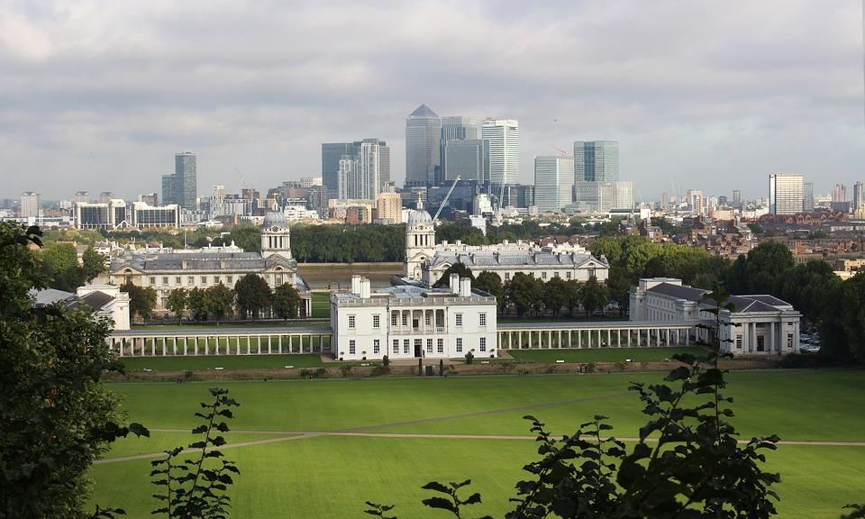 Greenwich Park, London, England, Landscape
