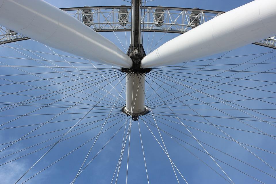 London Eye, London, Ferris Wheel, Attraction, Manege