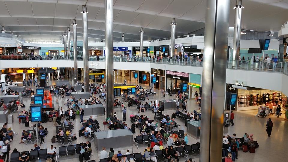 London, Heathrow, Airport, England, Britain, Uk