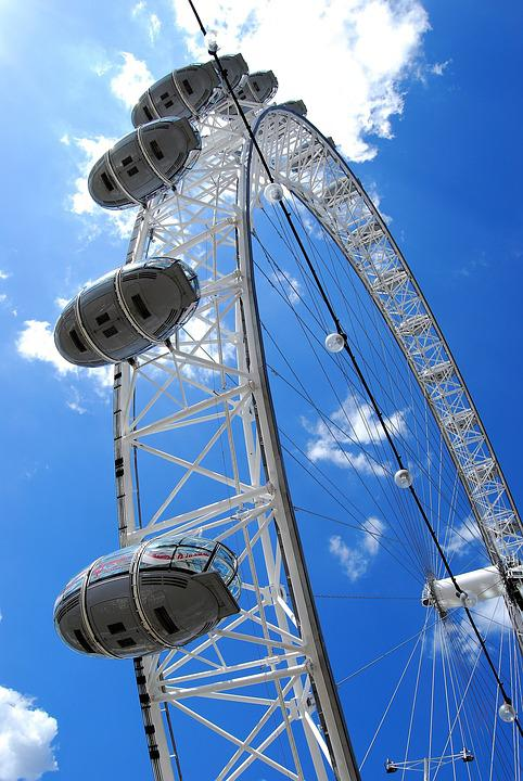 London Eye, Ferris Wheel, London, England, Tourism