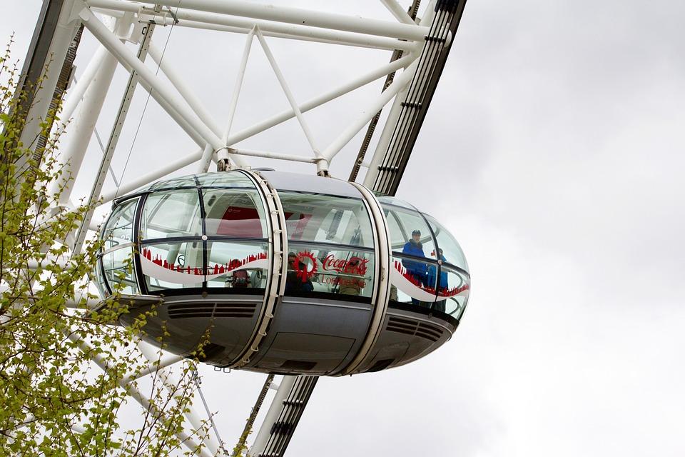 London Eye, Millennium Wheel, Wheel, London, Attraction