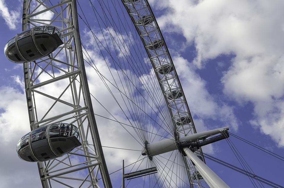 London Eye, Ferris Wheel, Places Of Interest, London