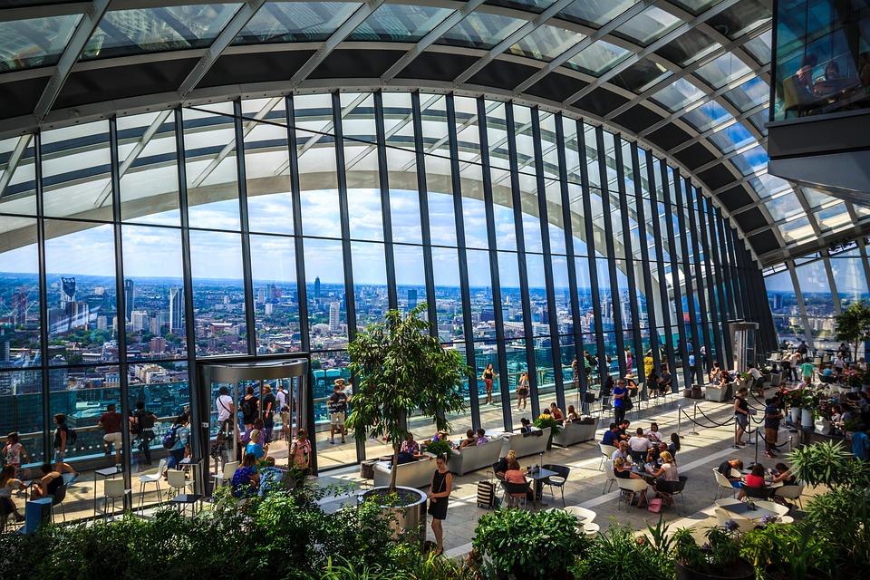Sky Garden, London, Architecture, Tourism, Landscape