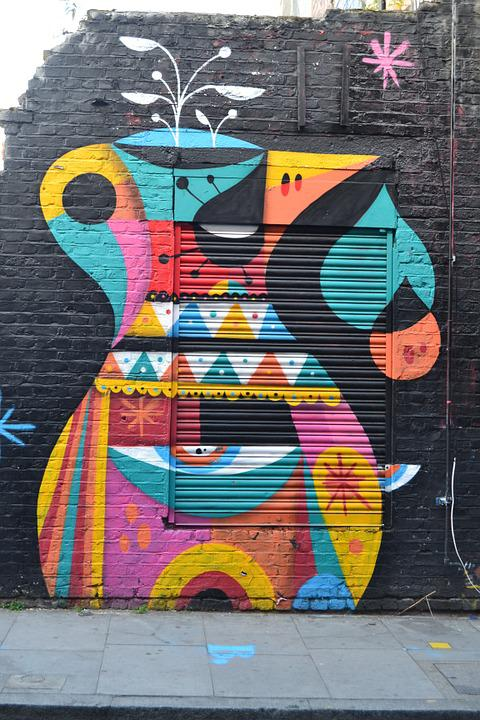 Art, Road, Painting, London, Street Art