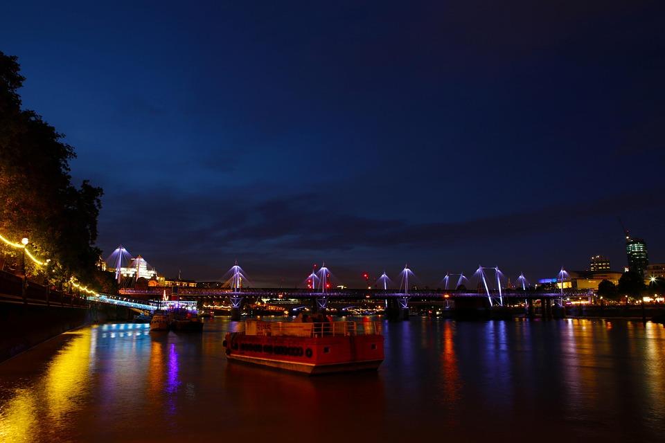London, Thames, River, England, City, Landmark, Uk