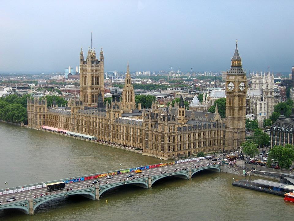 London, Uk Parliament, Big Ben