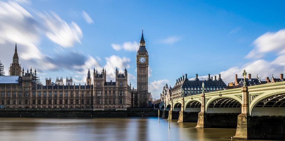 Westminster, Big Ben, London, Parliament, Clock
