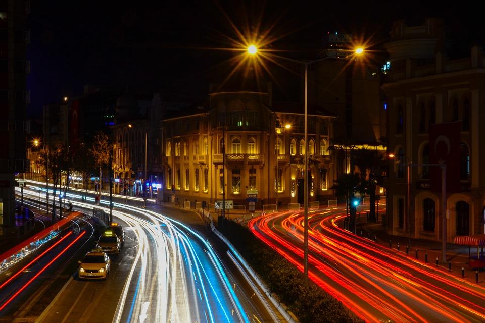 Light, Long Exposure, Dark, Cars, Lights, Traffic