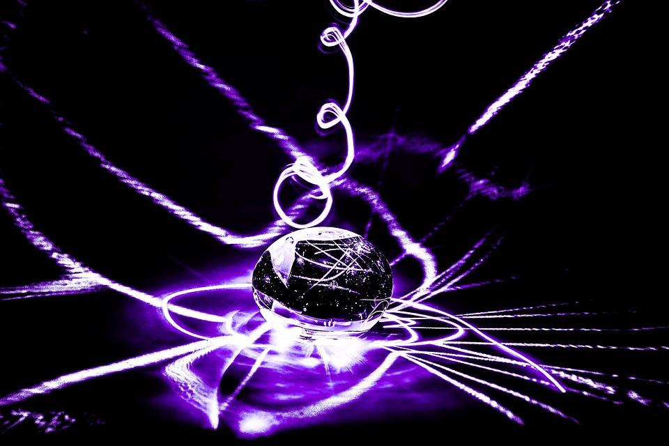 Long Exposure, Violet, Laser