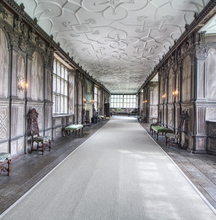 Haddon Hall, Long Gallery, Medieval, Manor House