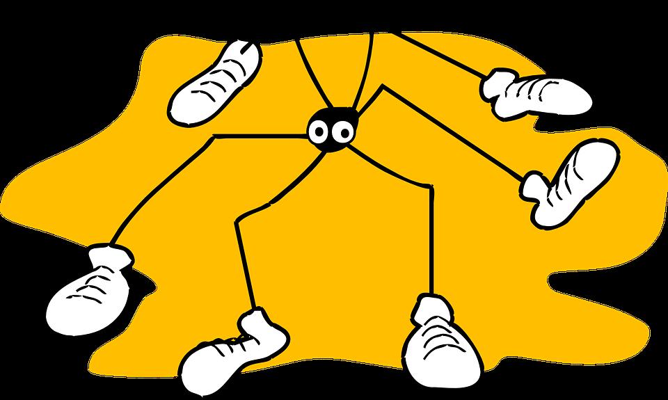 Spider, Yellow, Background, Long, Legs, Arachnid