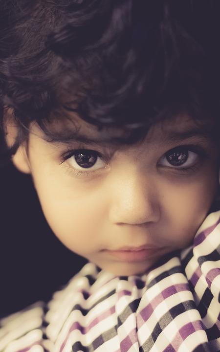 Kid, Girl, Child, Eyes, Glance, Look, Childhood, Face