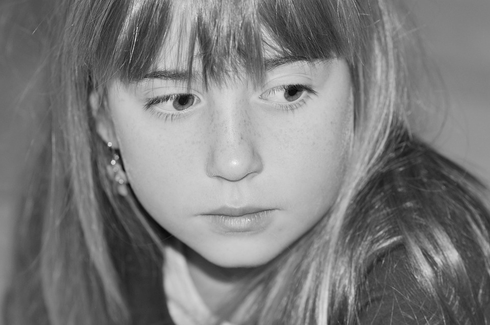 Child, Girl, Face, Direction Of View, Look
