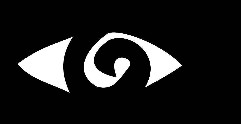 Eye, Look, Iris, Simple, Old, Runes