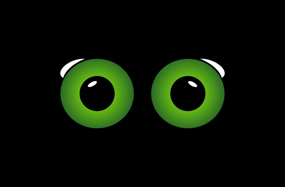 Eyes, Sight, Look, Surprise, Eye