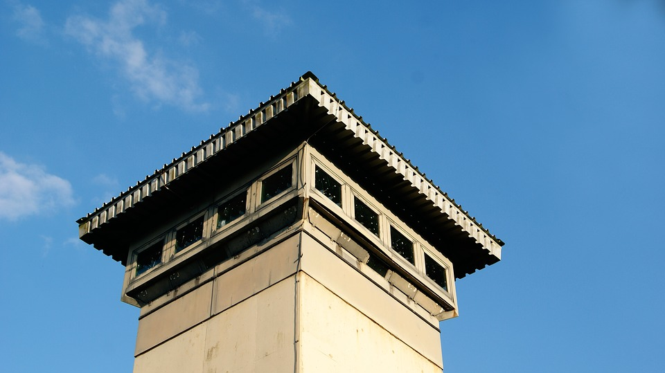 Lookout Tower, Watchtower, Outdoor, Blue Sky