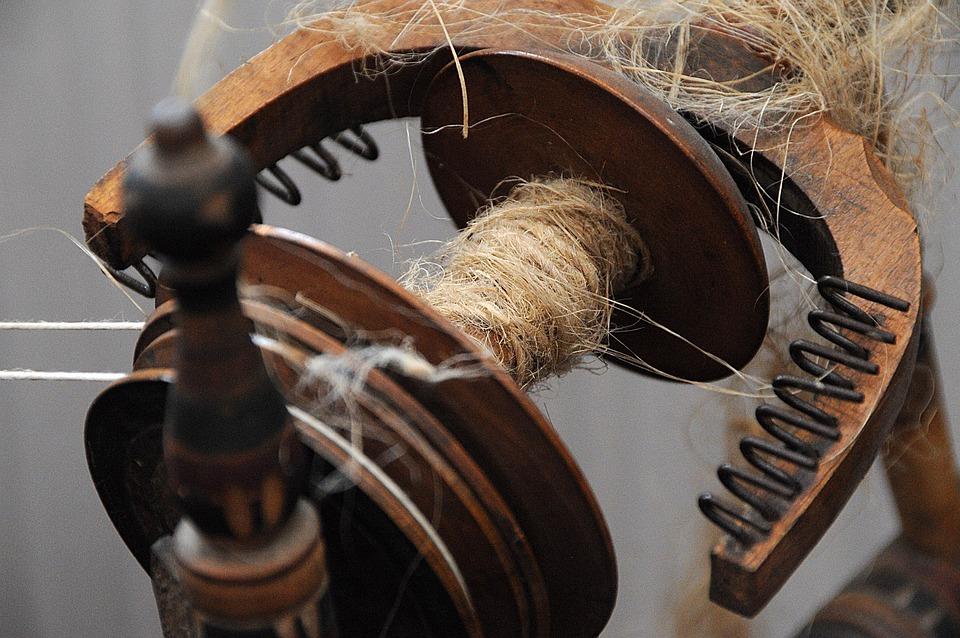 Loom, Folk, Sárközi, Folk Art, Yarn, Wood, Old, Snail