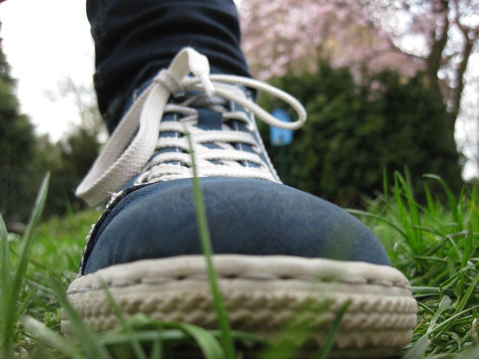 Shoe, Loop, Foot, Rush