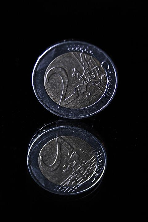 Coin, Euro, Currency, Money, Loose Change, € Coin