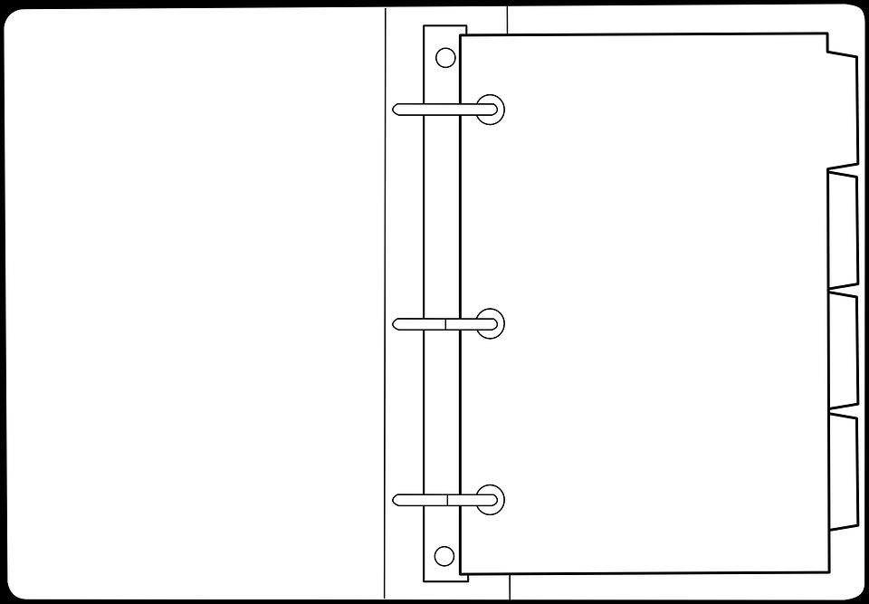 Binder, Ring Binder, Office, Folder, Loose-leaf, Paper