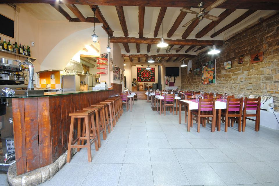 Restaurant, Inside, Ager, Lopoble