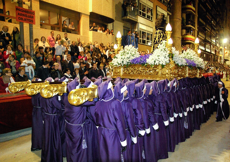 Lorca, Procession, Holy Week, Parade, Easter
