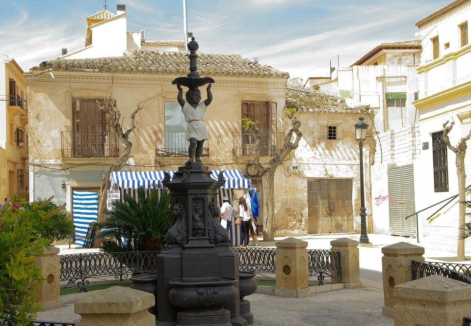 Andalusia, Lorca, Place, Streets