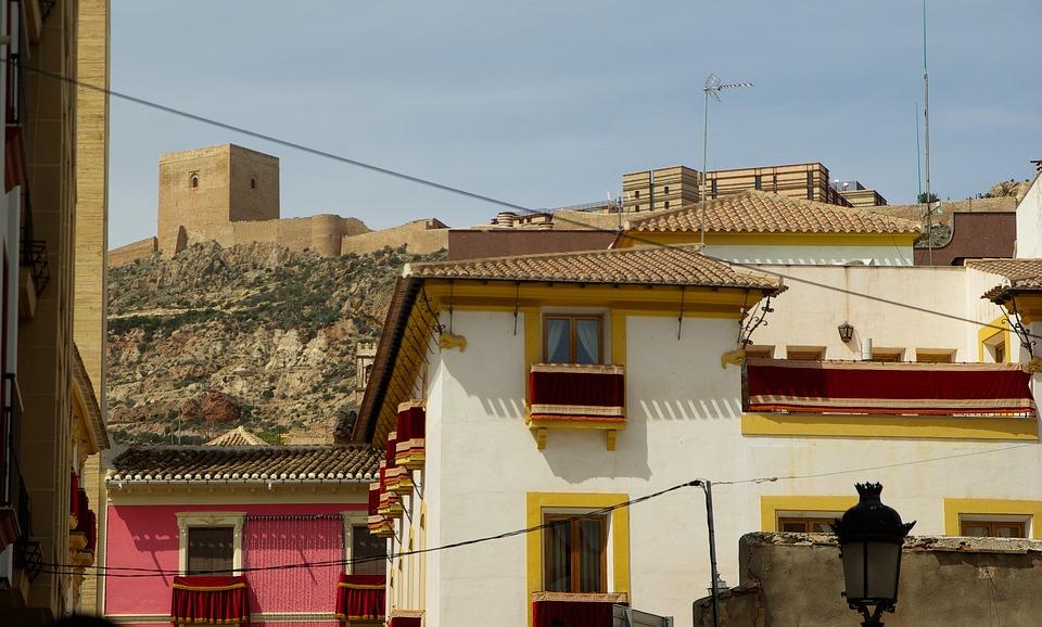 Spain, Andalusia, Lorca, Castle