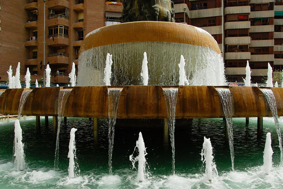 Spain, Lorca, Fountain
