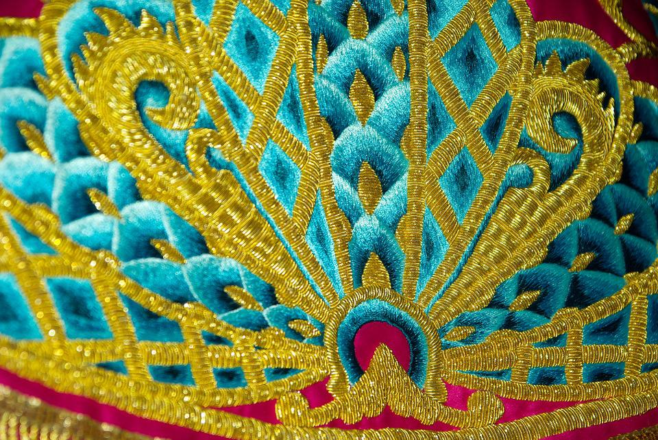Spain, Lorca, Embroidery, Son Of Gold