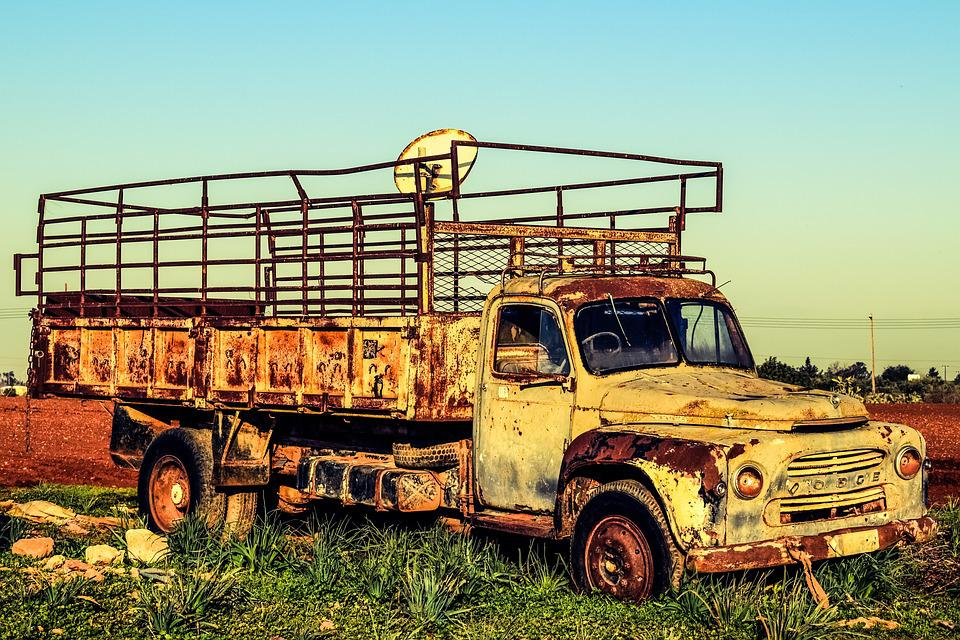 Free photo Lorry Abandoned Truck Vehicle Old Car Aged Rusty - Max Pixel