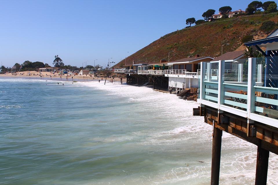 Sea, Los Angeles, Beach