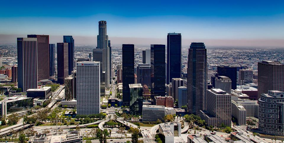 Los Angeles, California, Skyline, Downtown