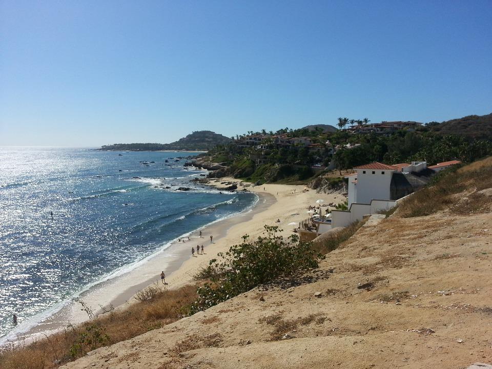 Beach, Los Cabos, Landscape, Sea, Mexico, San Jose