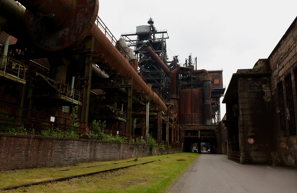 Industry, Lost Place, Leave