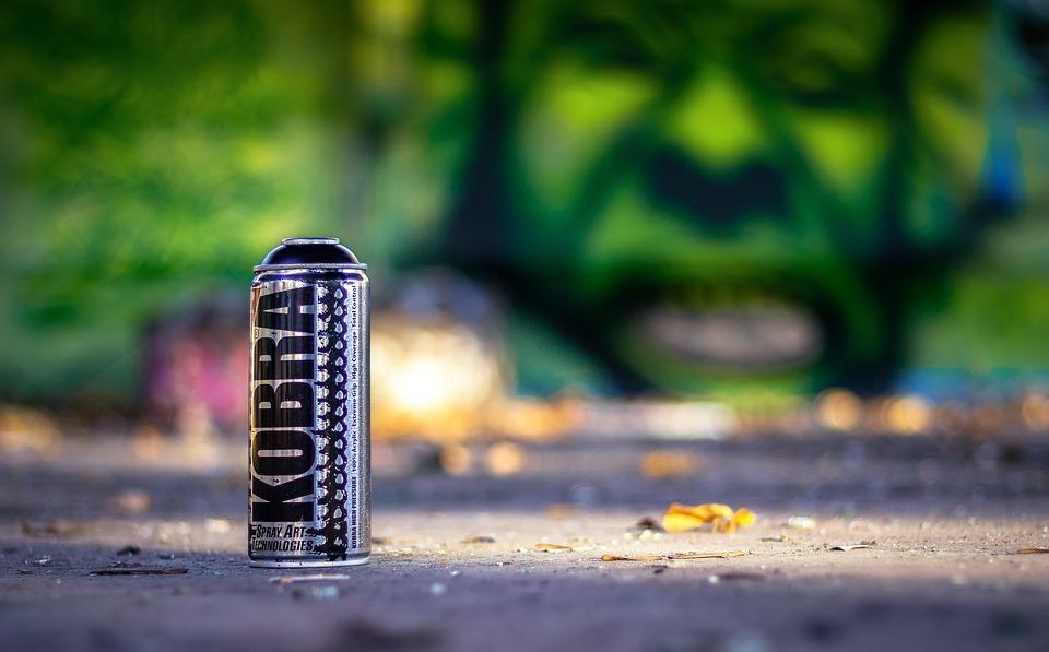 Graffiti, Sprayer, Spray Can, Art, Old, Lost Place