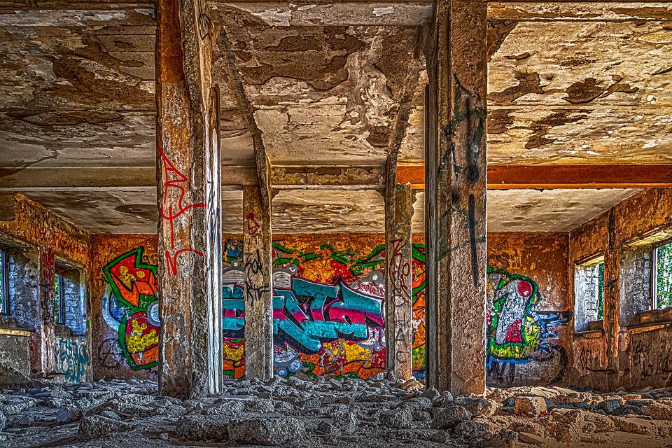 Lost Places, Abandoned, Architecture, Building, Space