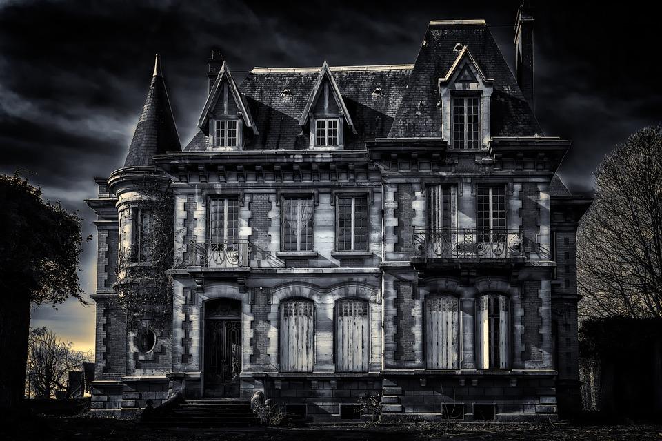 Villa, Home, Lost Places, Gloomy, Dark