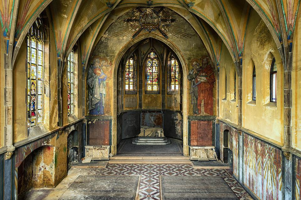 Church, Chapel, Lost Places, House Of Prayer, Leave