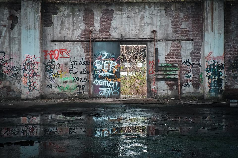 Lost Places, Old, Decay, Ruin, Railway Depot, Train