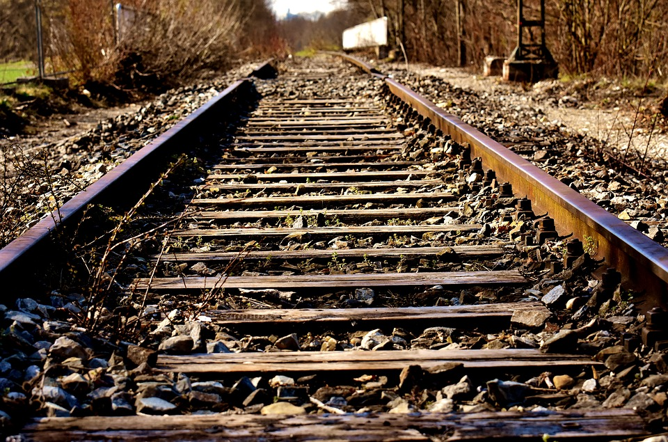 Rails, Old Railroad Tracks, Lost Places, Spirit Station