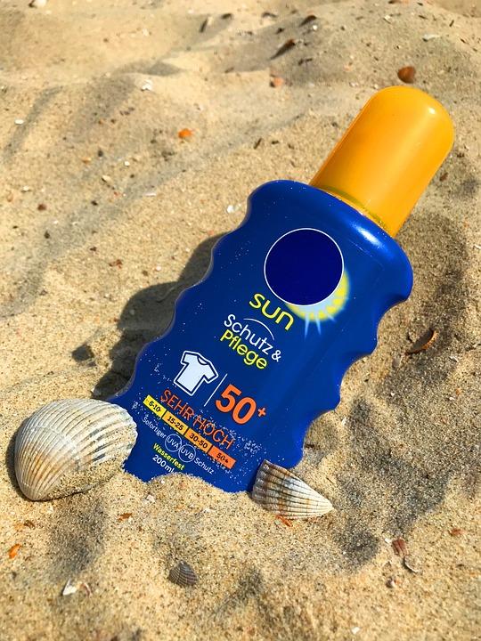 Sunscreen, Sun Milk, Lotion, Sun, Beach, Summer, Sand