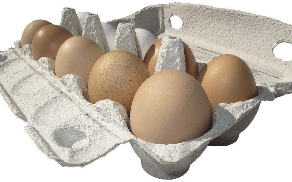 Egg, Hen's Egg, Egg Carton, Lots Of Eggs, Egg Packaging