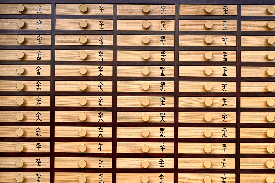 Drawer, Wood, Lottery, Buddhism, Shintoism, Tradition