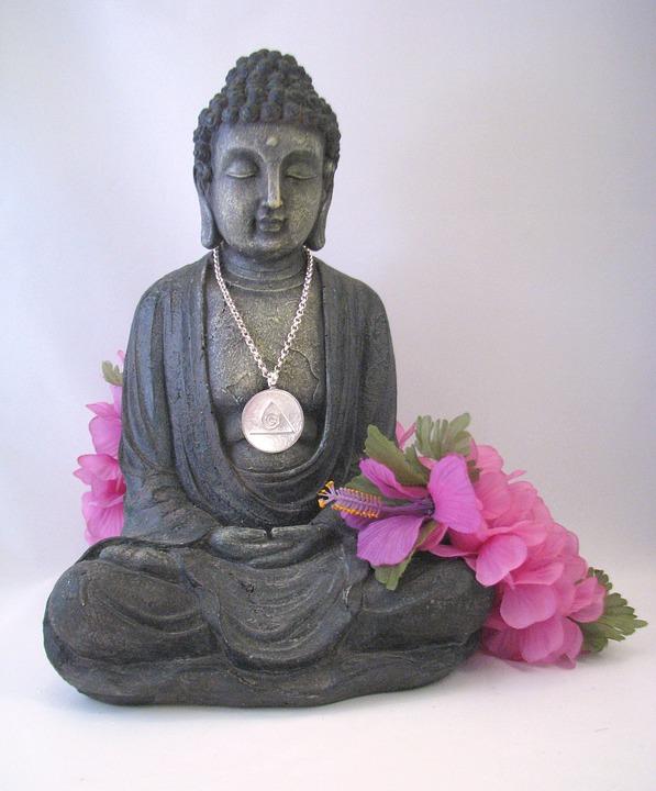 Budda, Lotus, Relaxation, China, Fig, Fengcheng