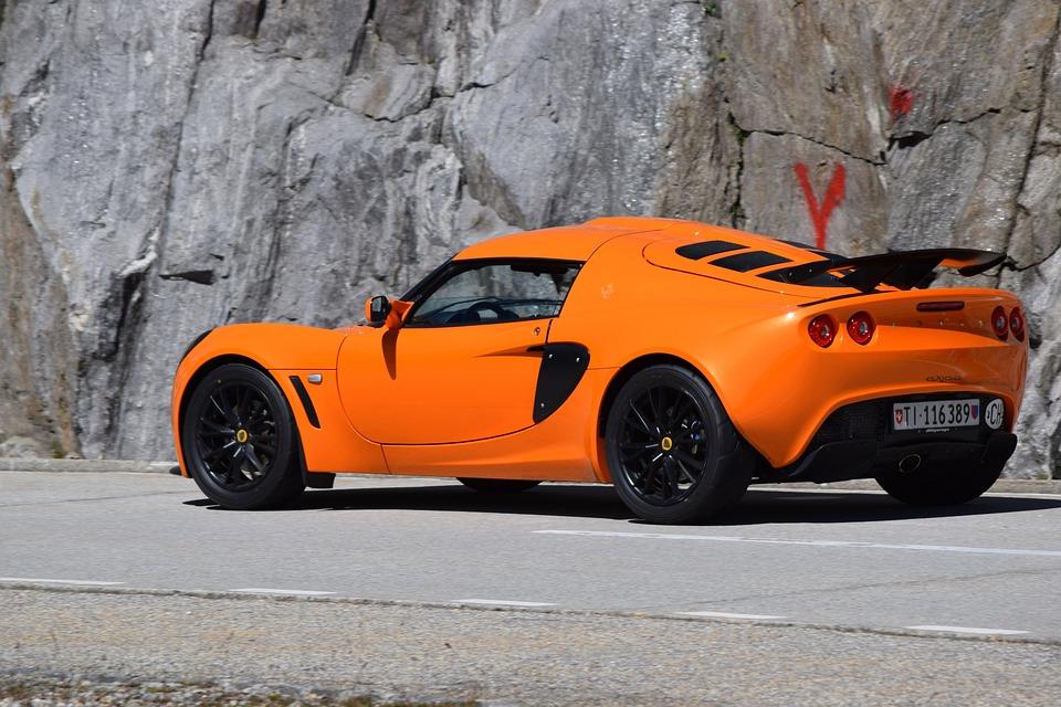 Car, Sporty, Lotus, Auto, Orange, Wheels, Switzerland