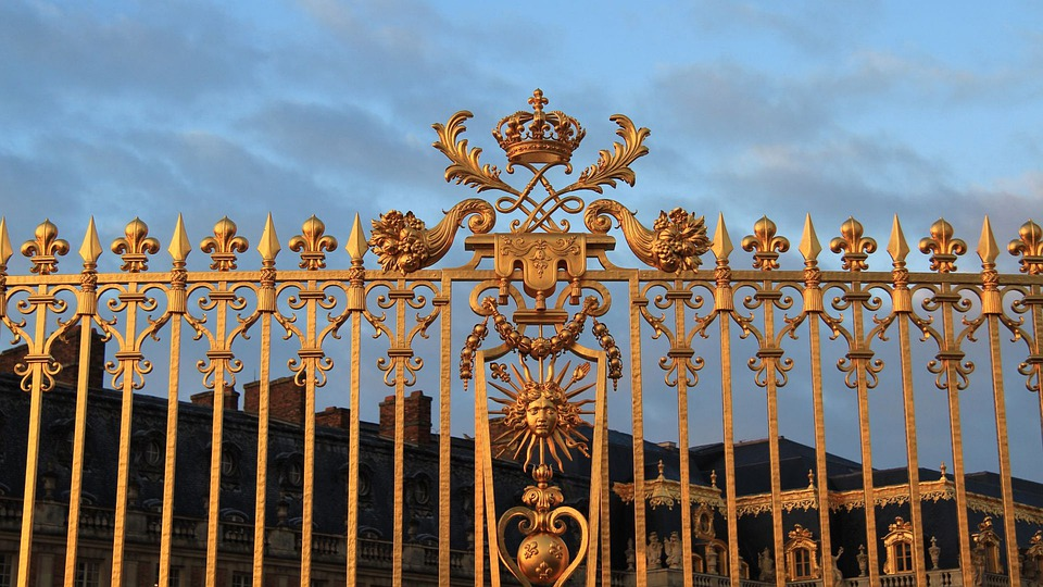 Versailles, Gate, Louis Xiv