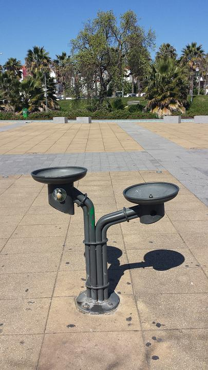 Water Cooler, Loures, City Park, Portugal