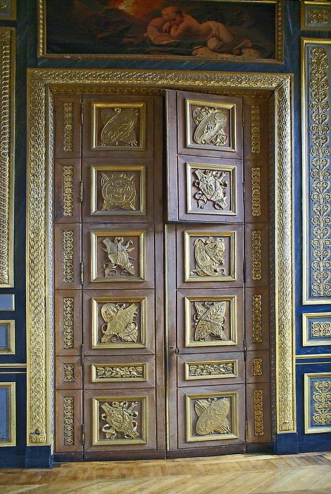 Louvre, The Interior Of The, The Door, Decorating